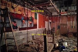 成都武侯区拆除凯德广场西餐厅20191015