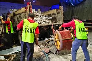 成都锦江区春熙路群光商场拆除清运20191020