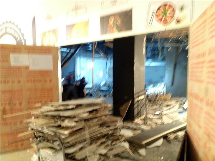 2020年1月8日交大凯德清汤牛腩店拆除即将完成