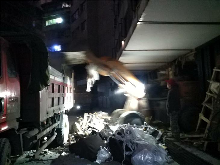 隐栖堂南台路酒店后期增加项拆除建渣清运施工