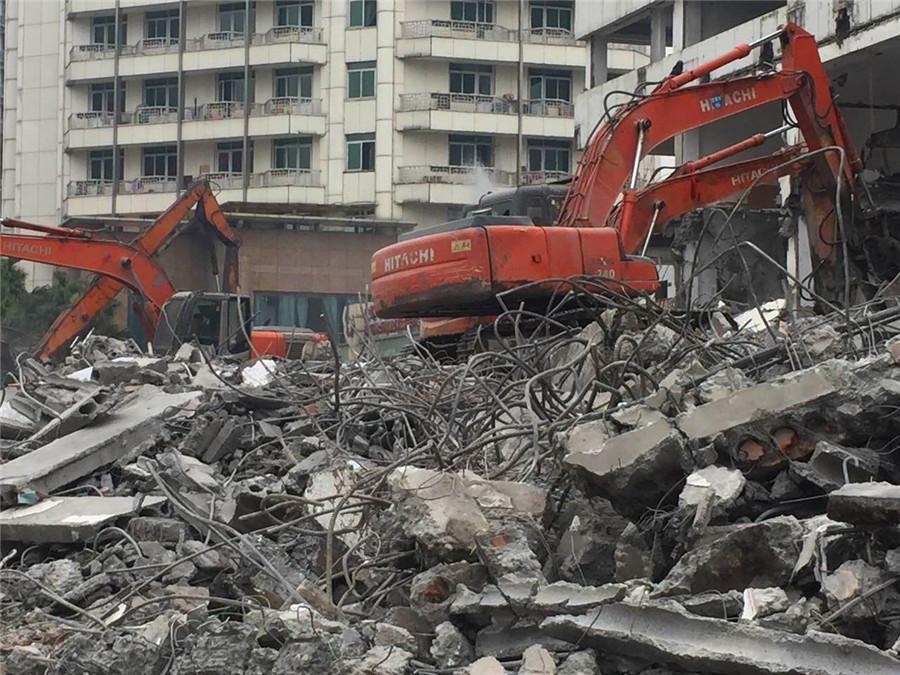 成都专业建筑物拆除公司楼房拆除楼栋拆除