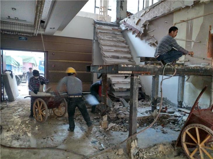 成都专业拆除团队拆除队伍工人