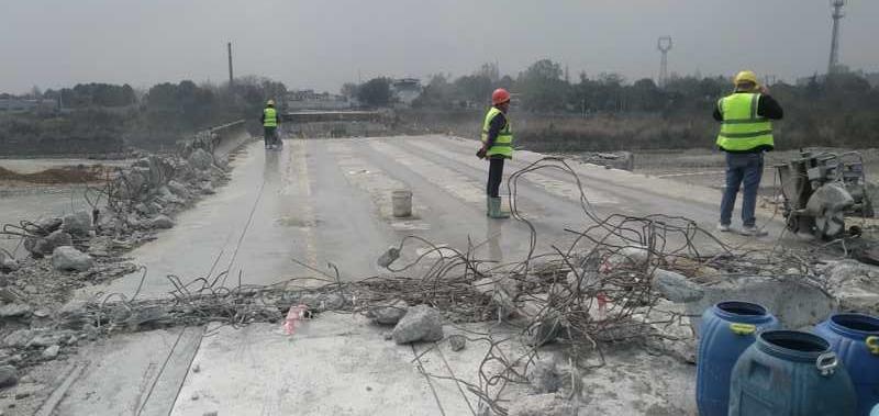 成都混凝土桥梁切割破碎拆除清运公司