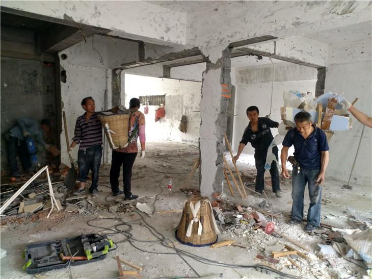 二手房拆除所有旧装修需要多少钱?成都专业拆除公司