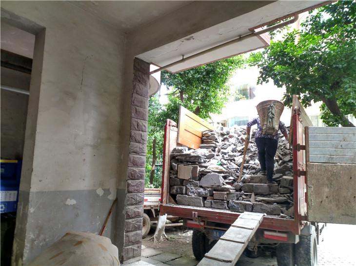 成都二手房装修拆除翻新装修拆除清运一体化富临沙河新城案例