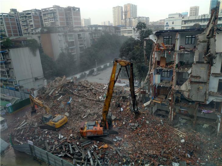 成都旧房拆除楼房拆除房屋拆除公司